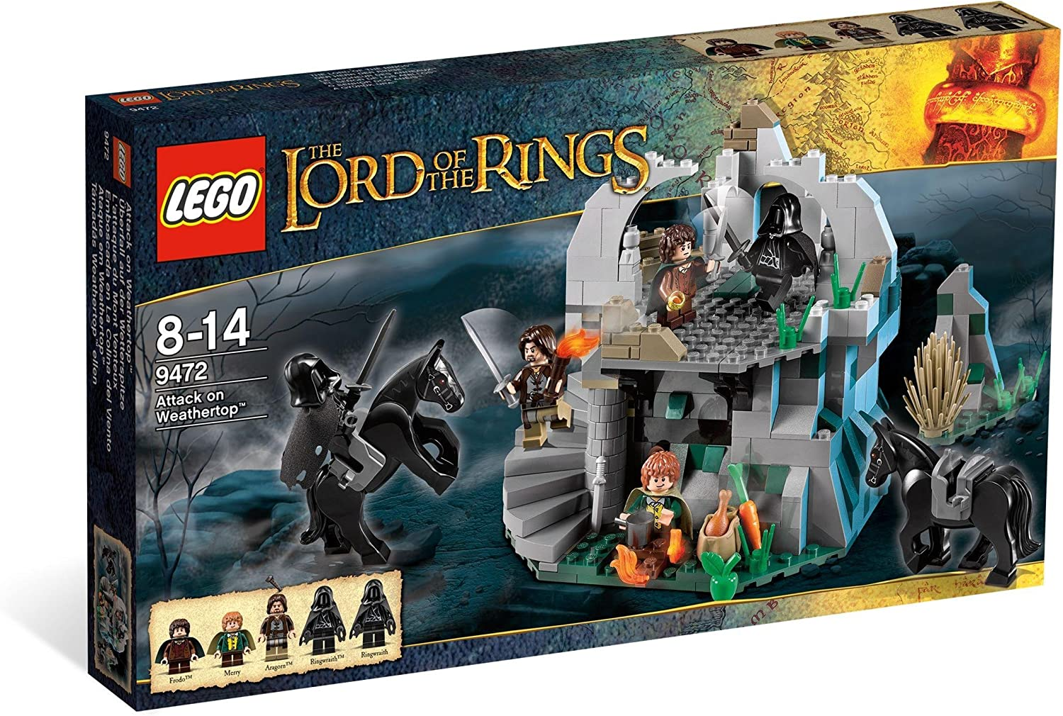 all lego lord of the rings sets