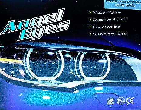 per E36 3 E38 7 E39 5 E46 4 pezzi 131mm Led bianco anello tubo faro Faro CCFL NA Luce CCFL per auto angelo occhi daquila