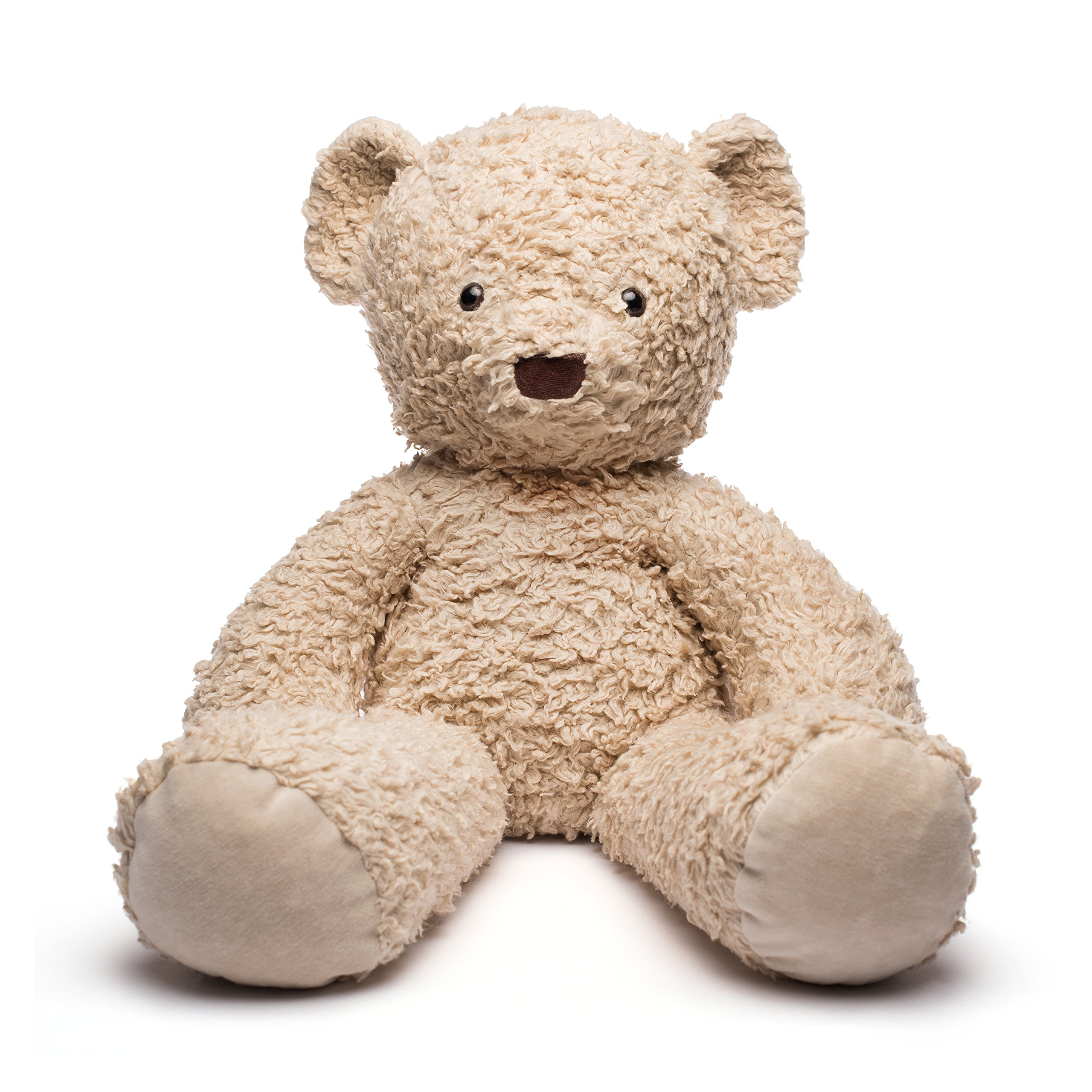 Bears For Humanity Organic Sherpa Bear Plush Animal Toy, Cream, 24'' by Bears For Humanity