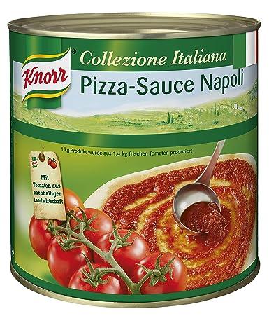 Knorr Collezione Italiana Italienische Pizza Sauce Napoli 1er Pack 1 X 2 6 Kg Amazon De Lebensmittel Getranke