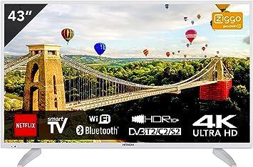 Hitachi 43HK6003W - Televisor (43 pulgadas, Ultra HD 4K TV ...