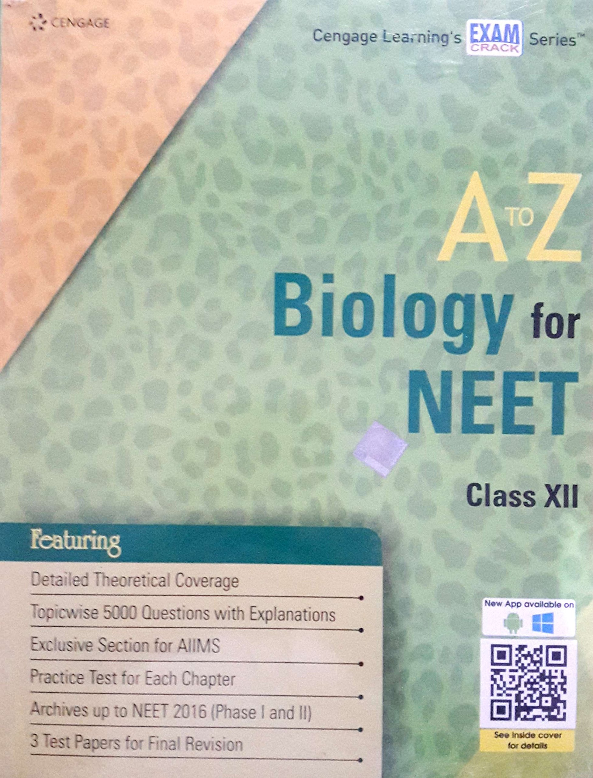 buy a to z biology for neet class xi book online at low prices in