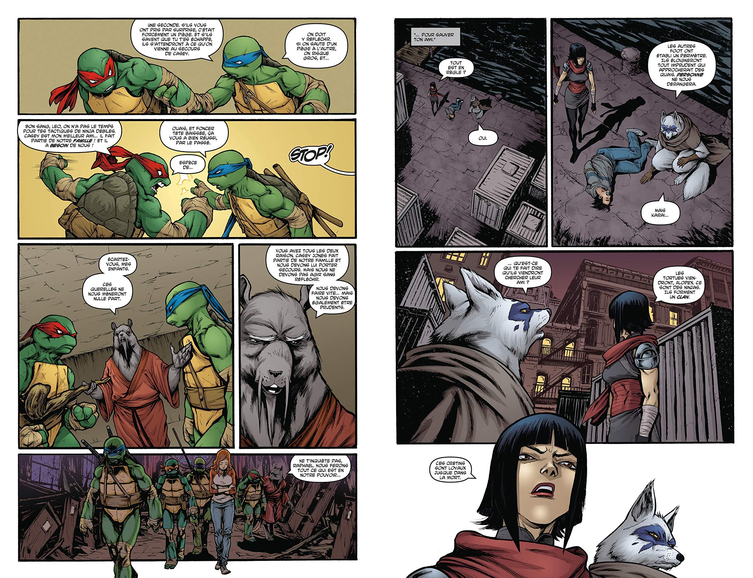Teenage Mutant Ninja Turtles - Les tortues ninja, Tome 2 ...