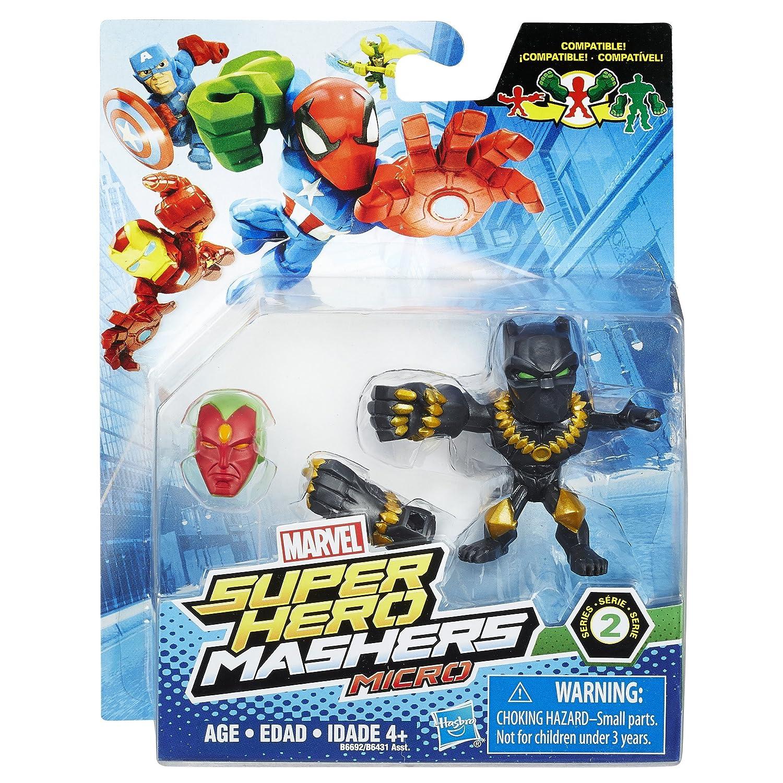 Amazon.com: Marvel Super Hero Mashers Micro Series 2 Figure ...