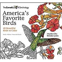 America's Favorite Birds: 40 Beautiful Birds to Color