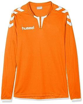6abe082f79f hummel Boys 'Core Football Jersey Long Sleeve Poly Jersey Tangerine,  116/128,