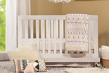 Baby Mod Olivia 3 In 1 Convertible Crib, White