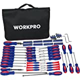 WORKPRO W000808A 130-Piece Screwdriver w/ Carrying Bag
