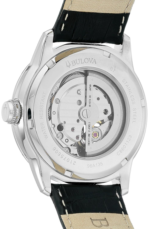 Bulova 96a135 Reloj Anal Gico Para Hombre Color Negro Bulova  # Muebles Saphire