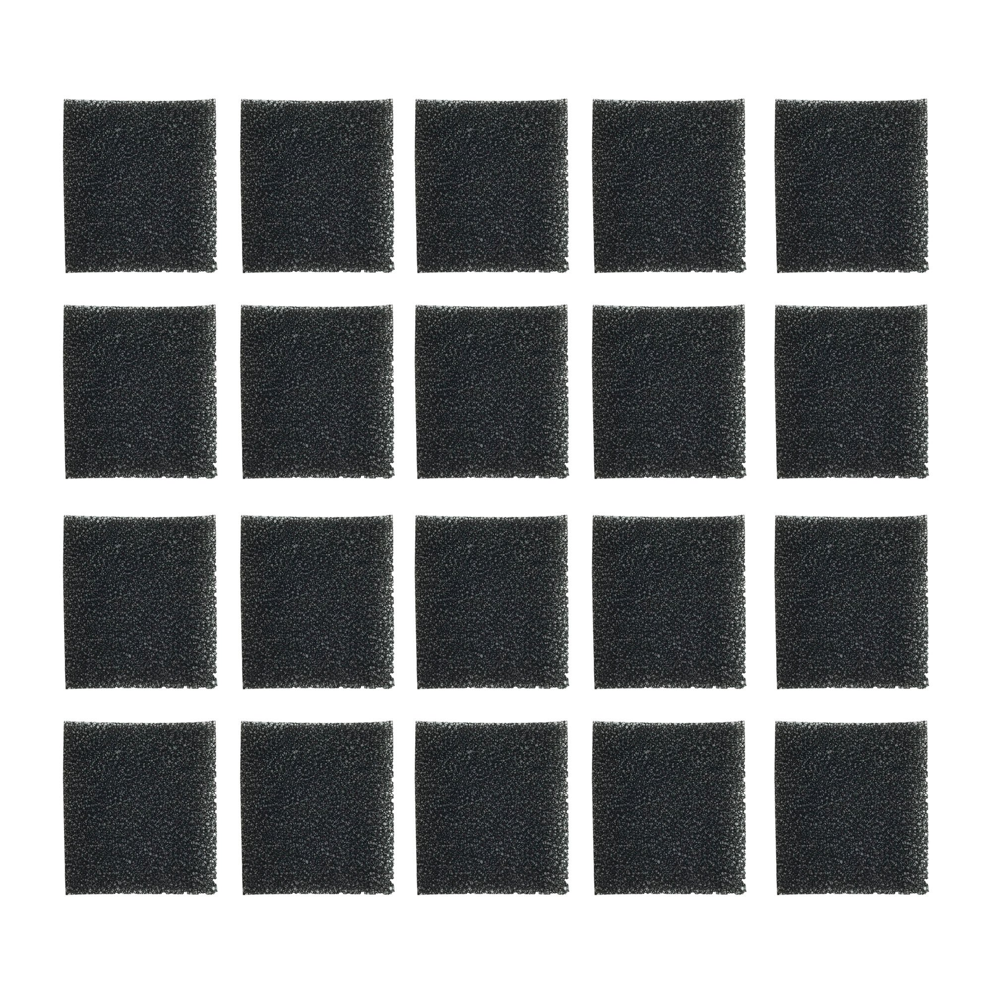 Think Crucial 20 Replacements for AeroGarden Sponge Filters Fit Miracle-GRO AeroGarden Pumps, Reduces Dirt & Debris in Pump, Increases Life of AeroGarden Pump by Think Crucial