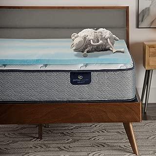 product image for Serta Comfort Cool 1.5-in Gel Memory Foam Mattress Topper, California King