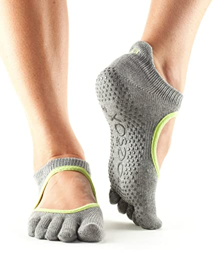 Toesox Full Toe Bellarina Calcetines de Yoga, Unisex Adulto
