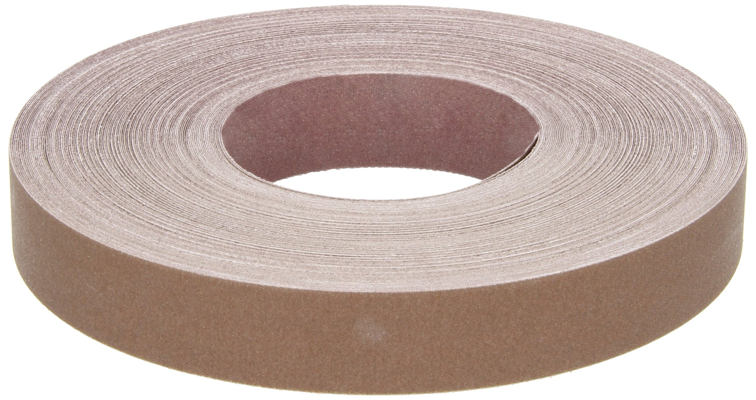 Norton K225 Metalite Abrasive Roll, Cloth Backing, Aluminum Oxide, 1'' Width x 50yd Length, Grit P320 (Pack of 5) by Norton Abrasives - St. Gobain (Image #1)