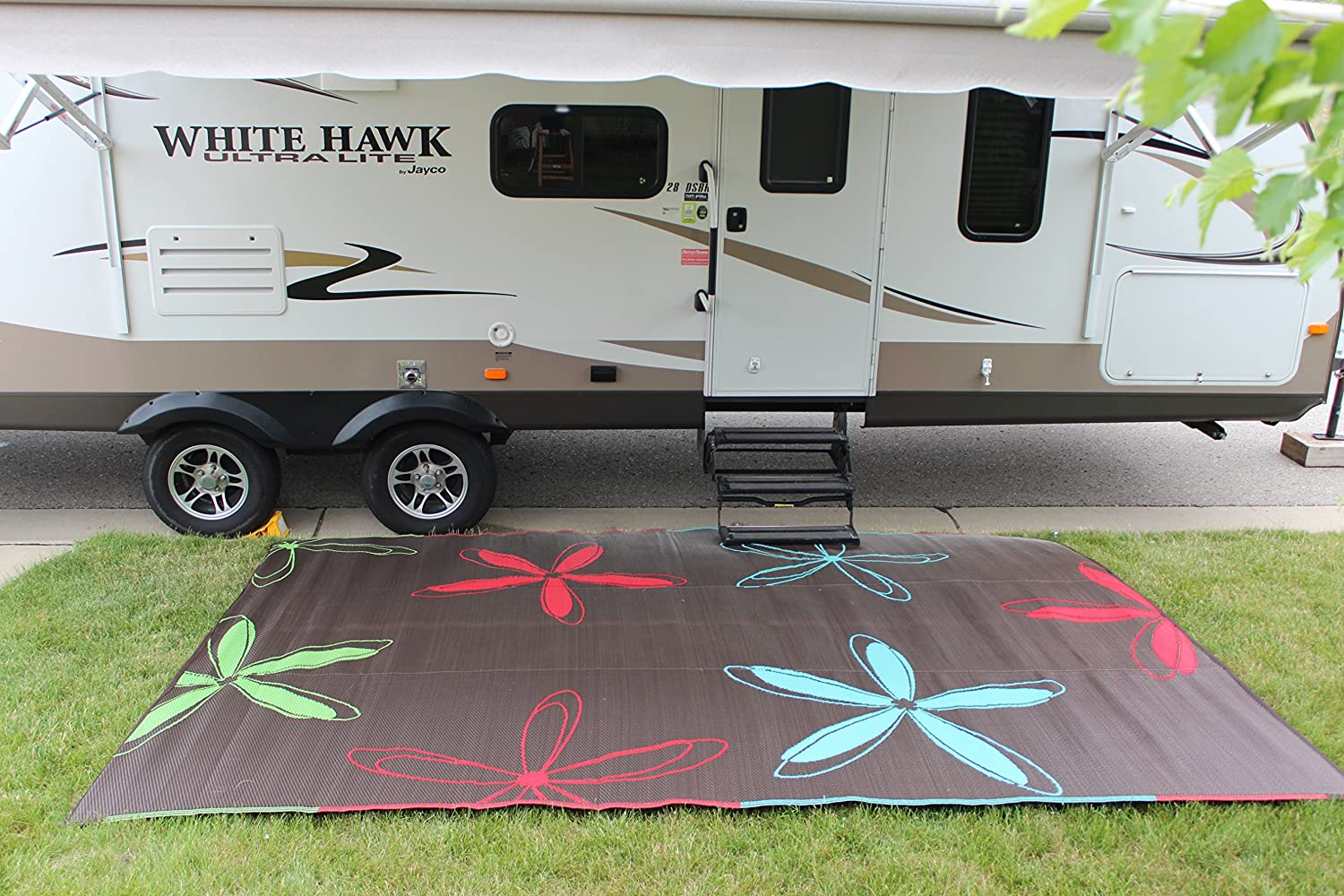patio ideas design sgwebg for beautiful camping mats outdoor curtain wonderful and rugs of carpet rv