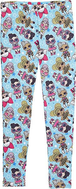 L.O.L. Surprise! Leggins Niña 2 Packs a Elegir Con Muñecas Lol Surprise Dolls Kitty Queen, Diva, Queen Bee, Cosmic Queen, Leggings Largos Ropa Para Niñas, Regalos Originales Para Chicas: Amazon.es: Ropa