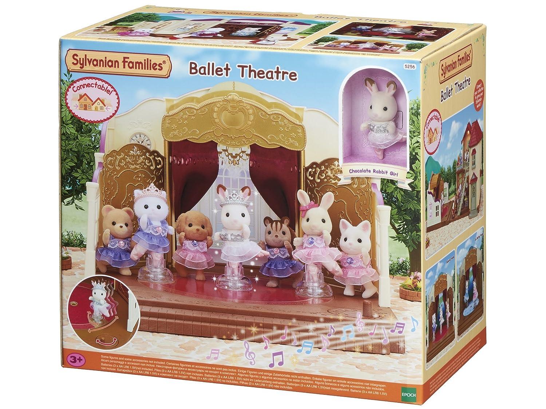 achat Sylvanian Families - 5256 - Théâtre de Danse et Ballerine pas cher prix