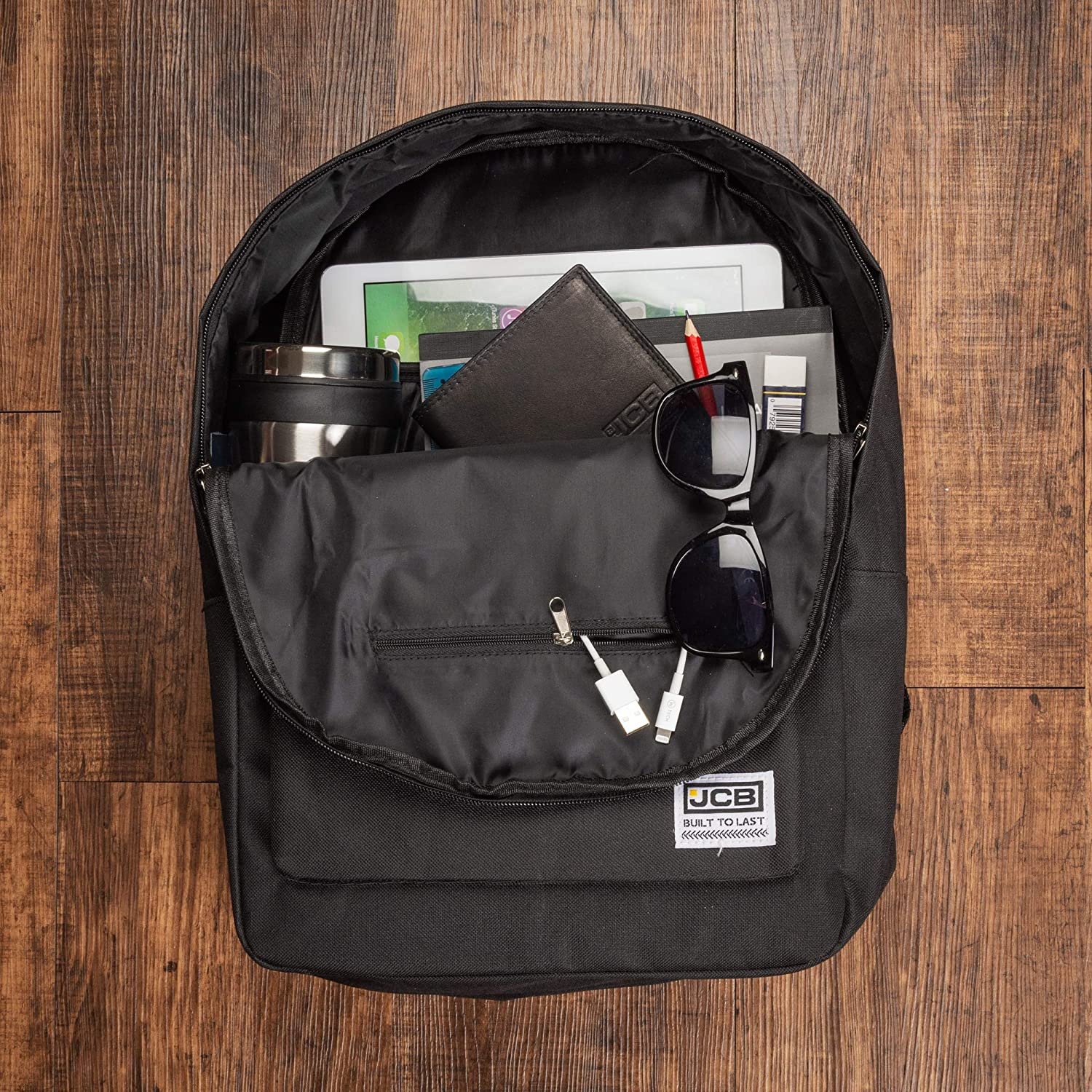 840bac15e219 JCB Backpack for School - Backpack For Men and Women (Unisex) - Great To Be  Used As A Laptop Backpack