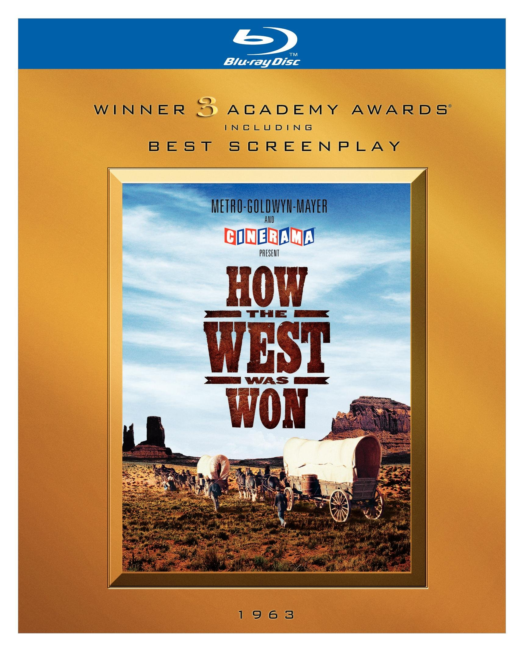 How the West Was Won (BD) [Blu-ray]