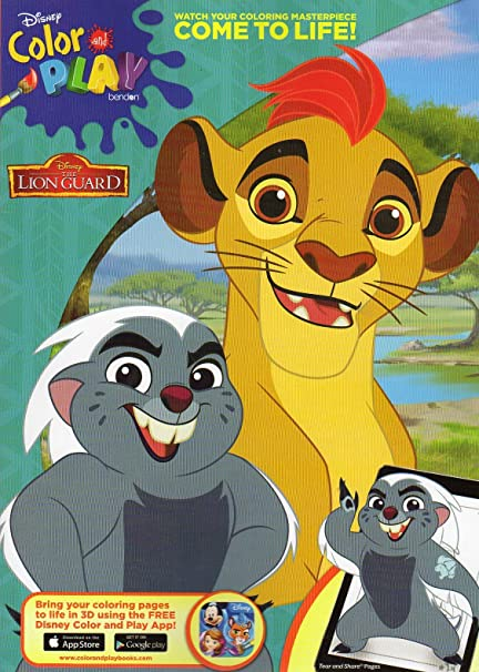 amazoncom disney the lion guard coloring activity book toys games