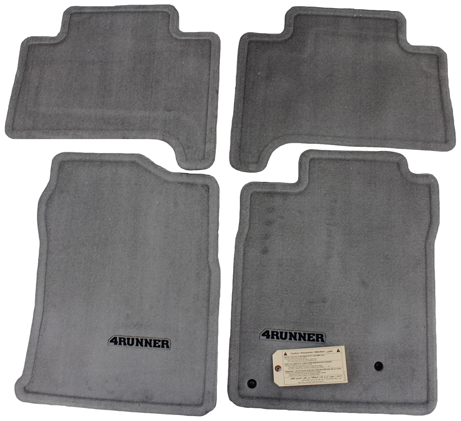 toyota mats avensis luxury carpet itm anthracite genuine floor