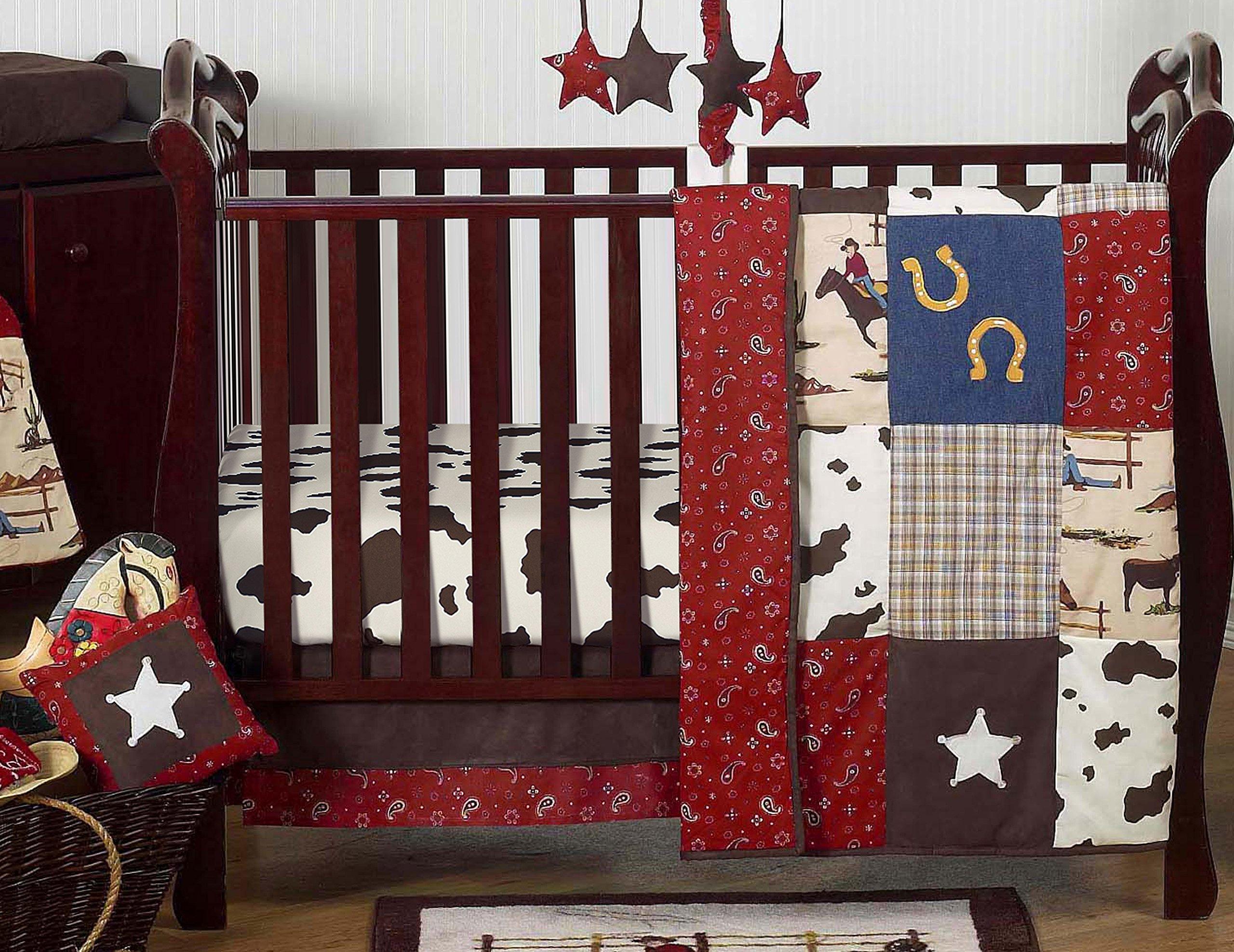 Amazon Com Sweet Jojo Designs Wild West Collection Crib