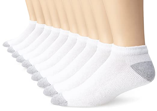 78365c0f6 Fruit of the Loom Men's Value 10 Pack Low Cut Socks at Amazon Men's ...