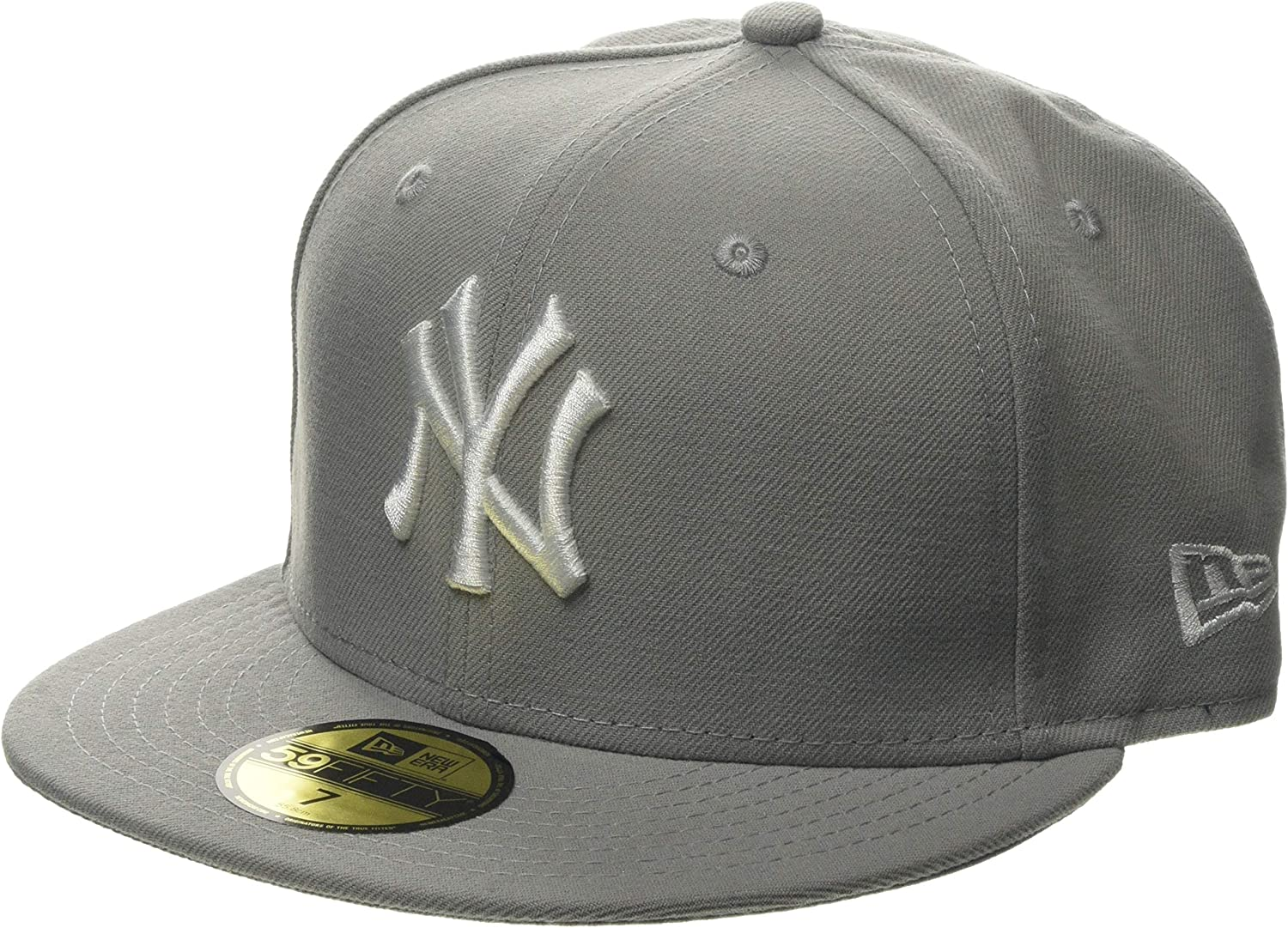 New Era MLB Basic NY Yankees 59 Fifty Fitted Gorra, Hombre: Amazon ...