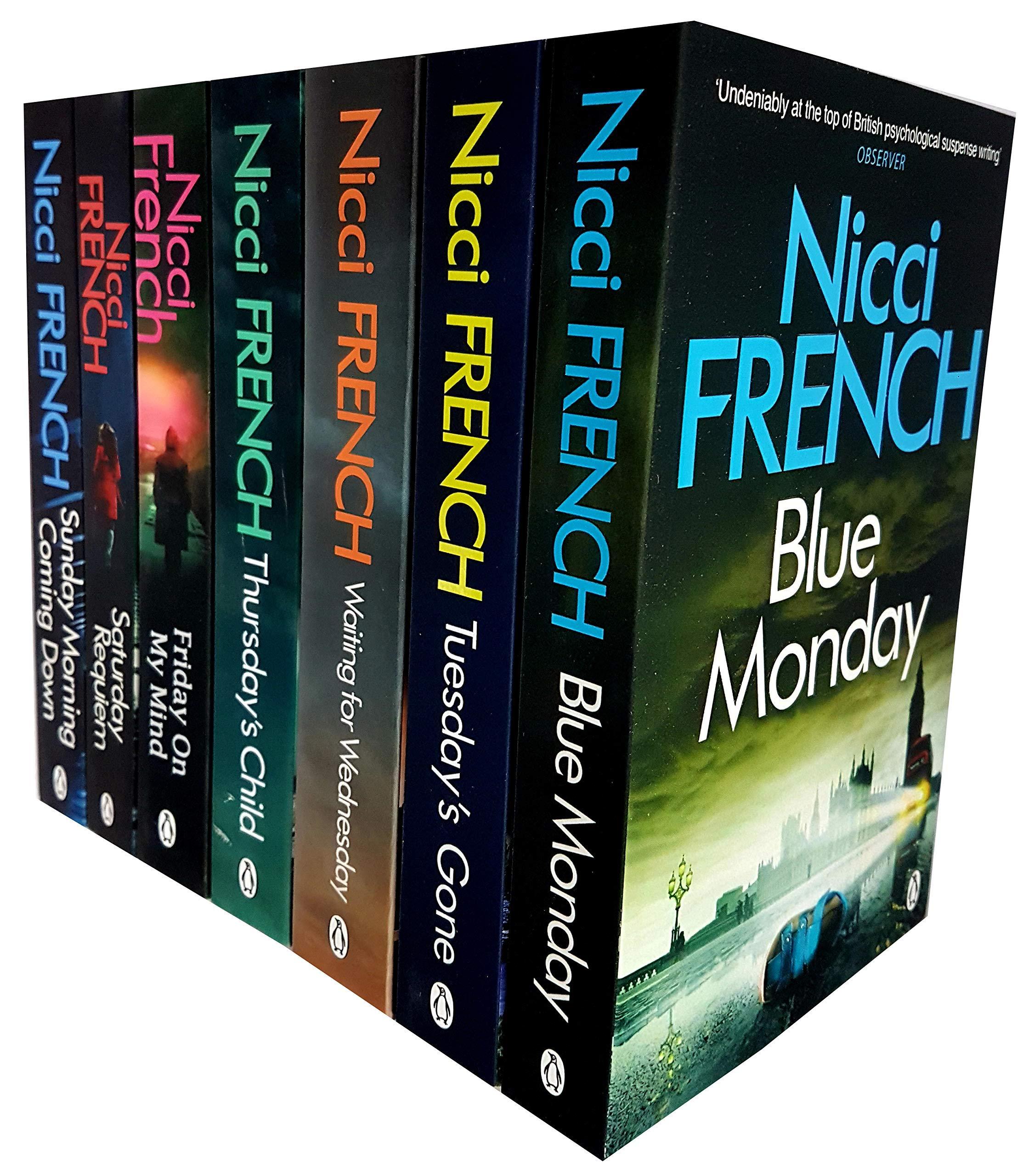 Frieda Klein Novel Series (1-7) Nicci French 7 Books Collection ...