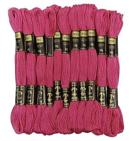 Amazon 25 X Anchor Threads Stranded Cotton Cross Stitch Hand