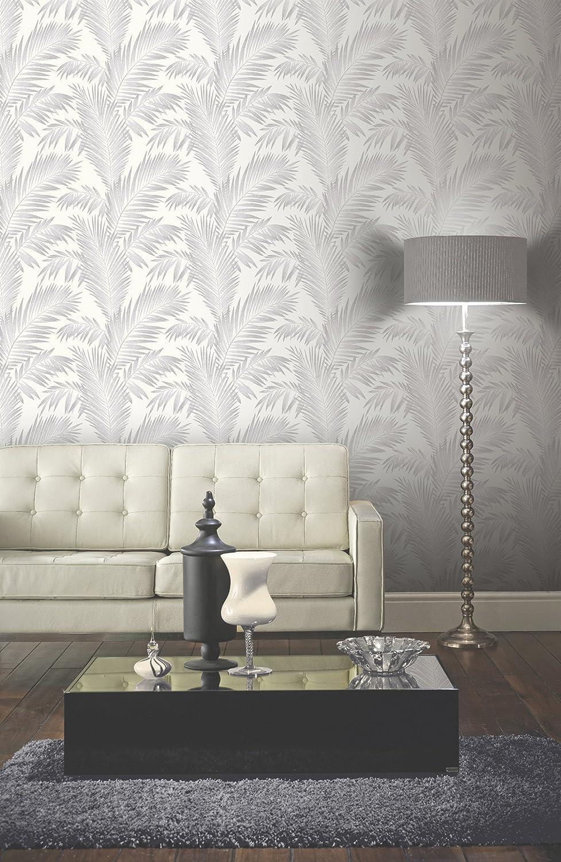 plateado 53 cm x 10.05 m Arthouse Ardita papel pintado