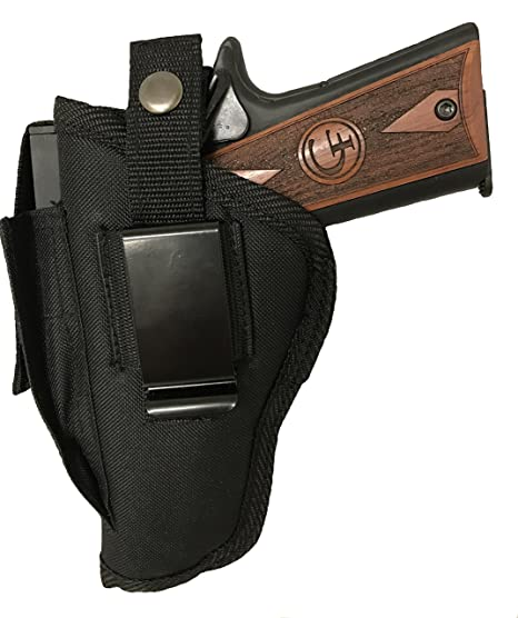 Amazon com : Gun Holster fits Remington RP9 Black Nylon Ambidextrous