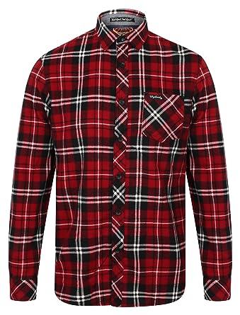 40b56bb52b Tokyo Laundry Dieppe Cotton Flannel Shirt: Amazon.co.uk: Clothing