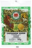 Ngr Kardamom, grün, ganz, 50g, 2er Pack (2 x 50 g Packung)