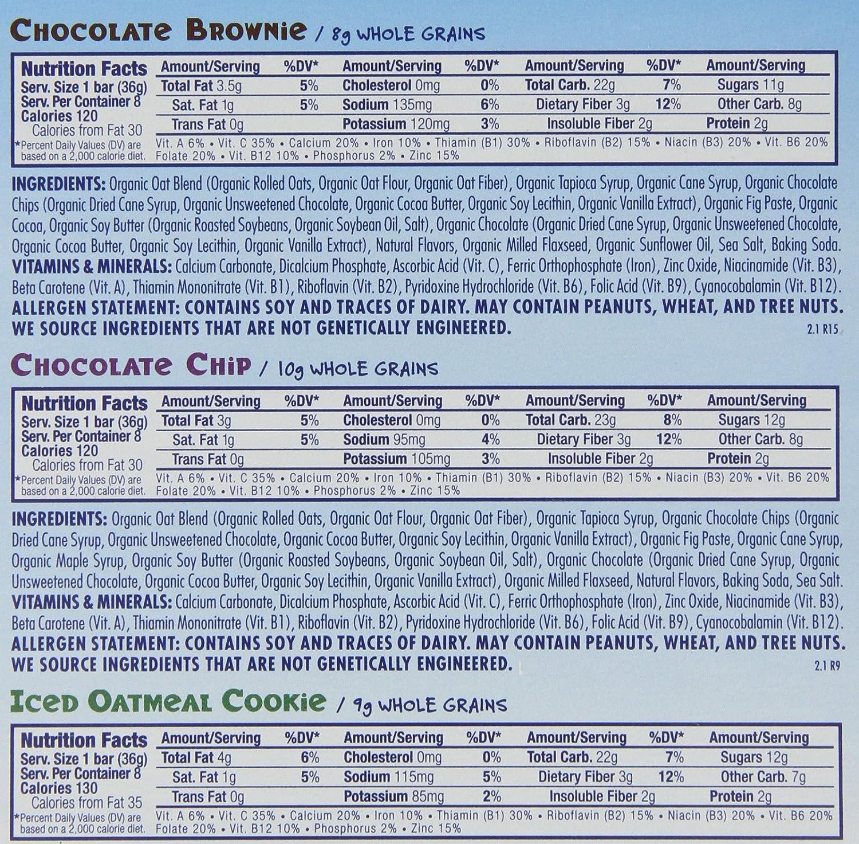 Clif Z Bar Chocolate Brownie Nutrition