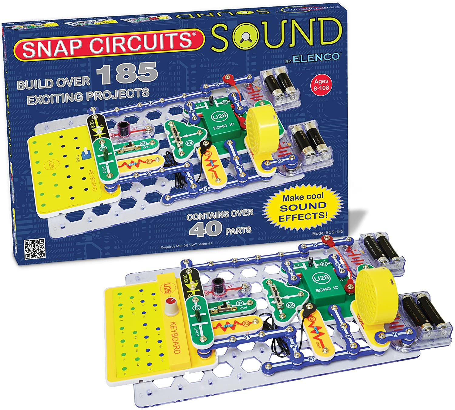 Amazon.com: Snap Circuits Sound Electronics Discovery Kit: Toys & Games