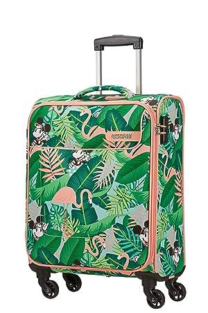 American Tourister Funshine Disney Equipaje de Mano, 55 cm, 36 Liters, (Minnie Miami Palms): Amazon.es: Equipaje