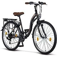 Licorne Bike Bicicleta de ciudad Stella Premium de 24,26 y 28 pulgadas, para niños, hombres…