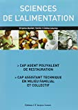 Sciences de l'alimentation CAP agent polyvalent de restauration, CAP assistant technique en milieu familial et collectif