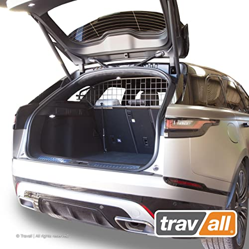 Travall Guard Compatible with Land Rover Range Rover Velar 2017-Current TDG1557 – Rattle-Free Steel Vehicle Specific Pet Barrier