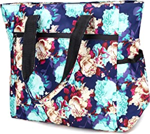 Nylon Large Lightweight Tote Bag Shoulder Bag for Gym Hiking Picnic Travel Beach Waterproof Tote Bags