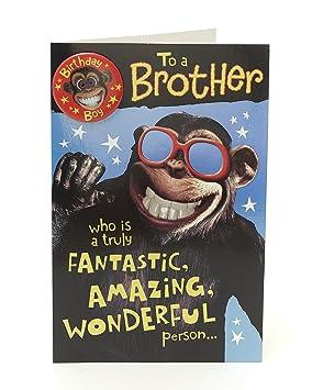 Brother Birthday Card Funny