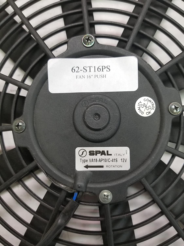Spal Va18 Ap10 C 41s 12v Automotive Cooling Fan Flexalite Electric Black Magic Series Coximportcom A