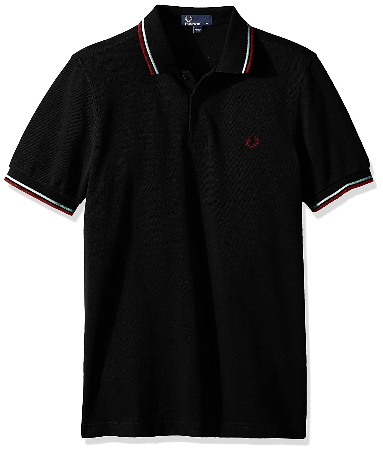 5170727ca41 Amazon.com: Fred Perry Men's Twin Tipped Shirt-M3600: Clothing