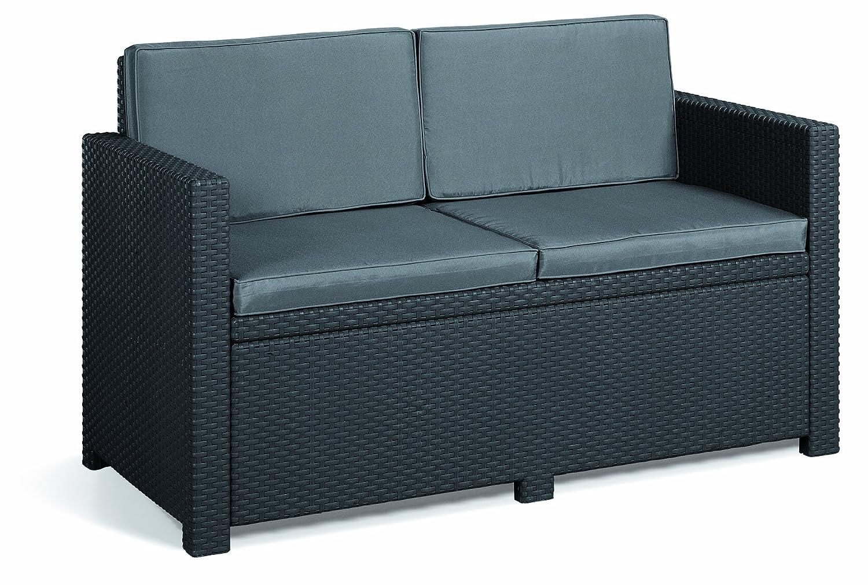 Allibert 206459 Lounge Juego Monaco (sofá, 2 sillones, 1 ...