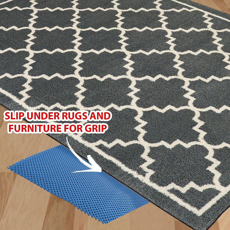 30x150cm NON SLIP MAT MULTI PURPOSE ANTI SLIP RUG GRIPPER GRIP DASH MAT NONSLIP