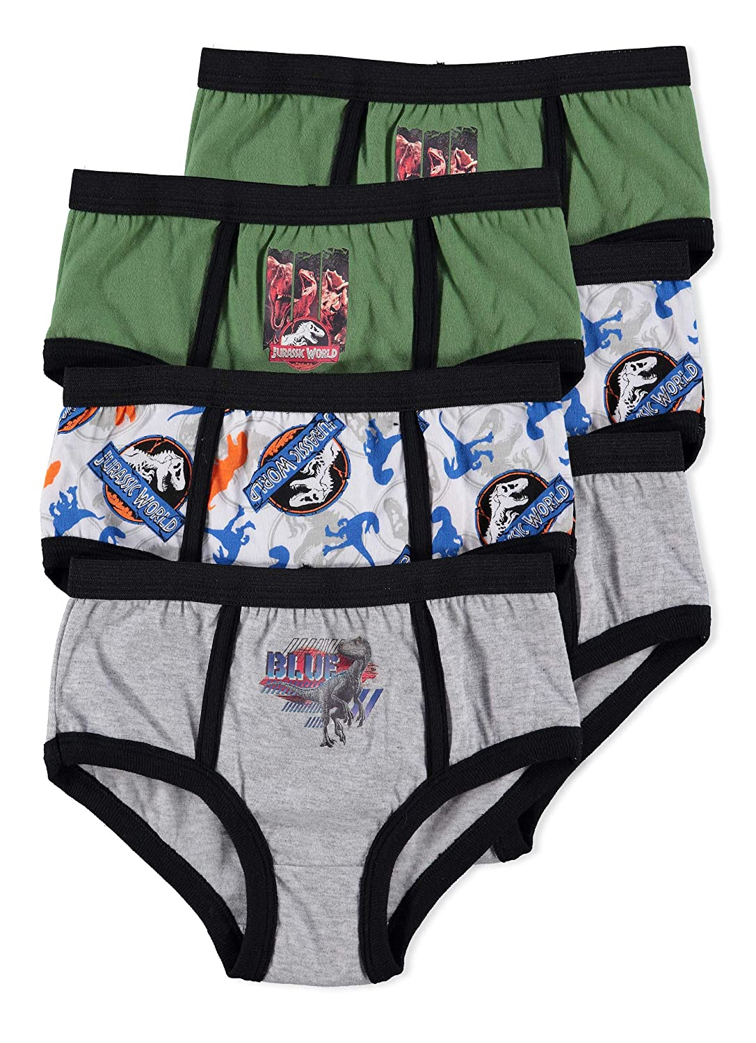 Jurassic World 2 Boys Underwear | Briefs 6-pack Jellifish Kids
