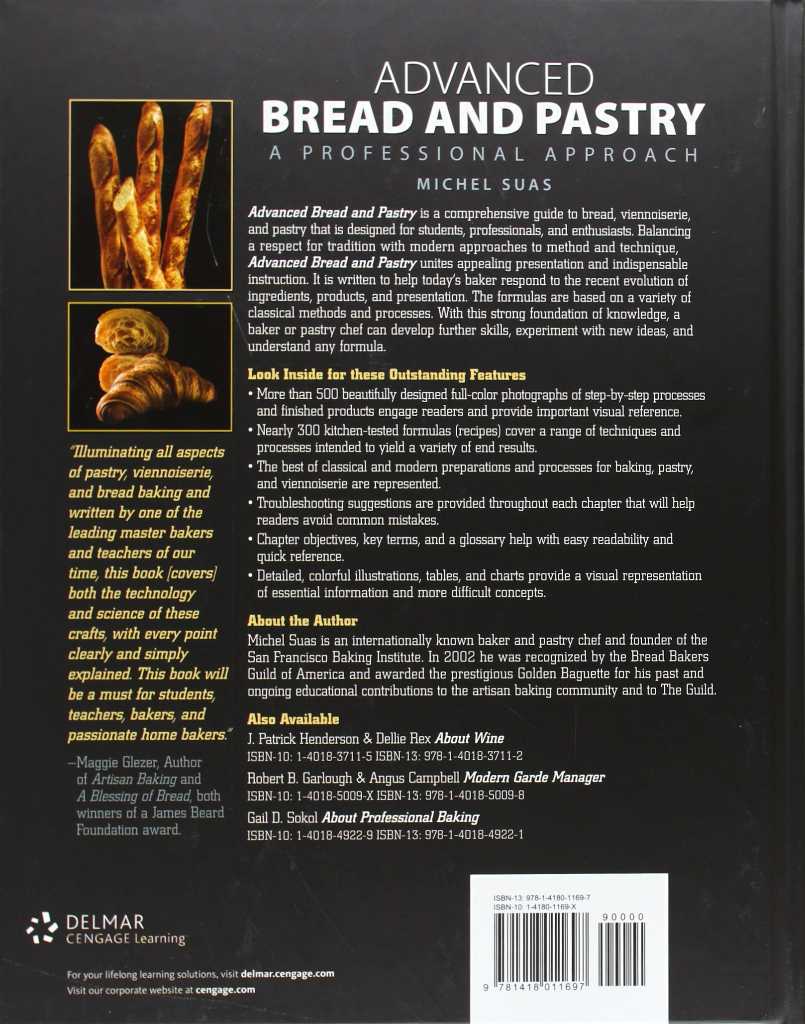 Advanced Bread and Pastry by Brand: Cengage Learning