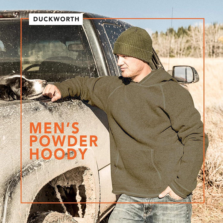 Duckworth Mens Powder Merino Wool Hoodie