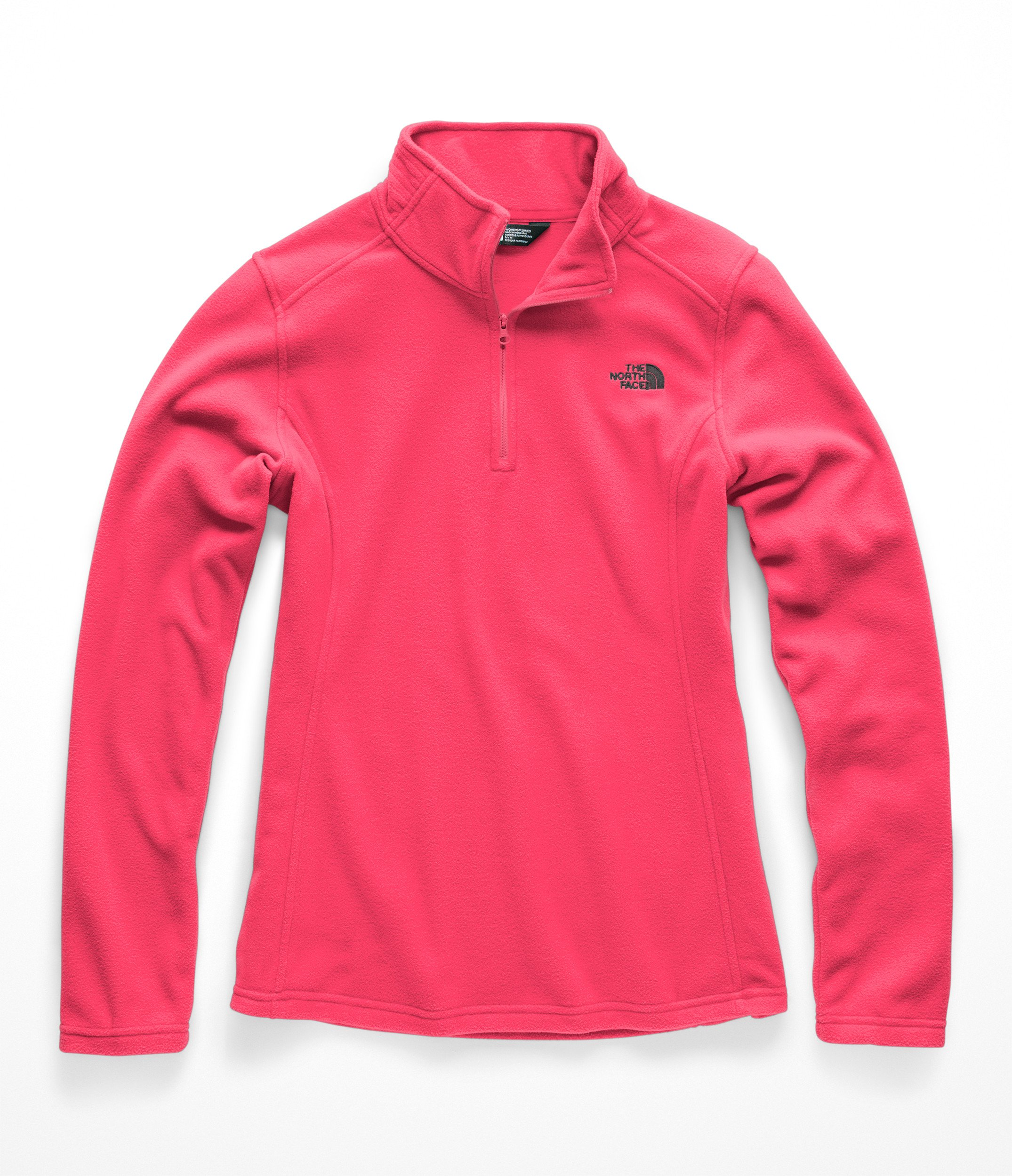 The North Face Women Glacier 1 & 4 Zip - Atomic Pink - XS
