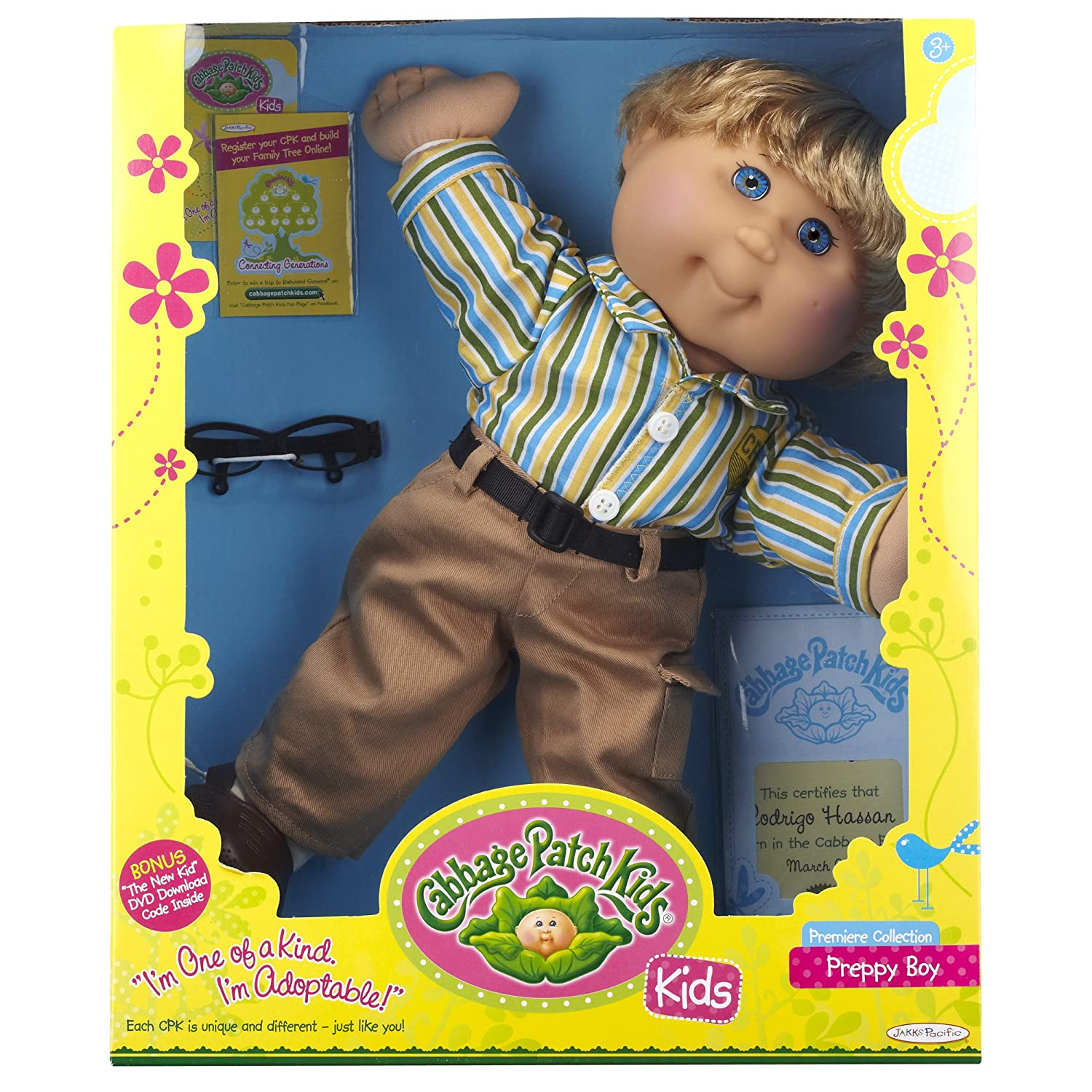 Amazon Cabbage Patch Kids Blonde Preppy Boy Styles May Vary